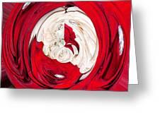 Red Rose Wrap Greeting Card
