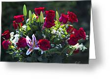 Red Roses Say I Love You Greeting Card