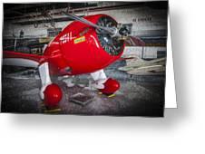 Red Speedster Greeting Card
