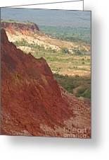 red Tsingy landscape Madagascar 2 Greeting Card