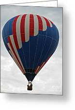 Red White And Balloon 2 Greeting Card