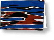 Red White And Blue IIi Greeting Card