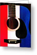 Red White And Blues Greeting Card