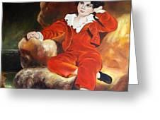 Redboy Greeting Card