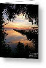 Redemption Sunrise  Greeting Card