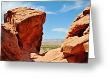 Redstone Canyon Greeting Card