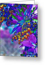 Redvien Flowers 2 Greeting Card