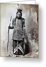 Ree 1880 Greeting Card