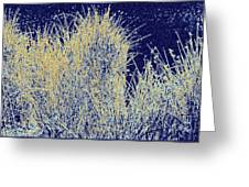 Reeds Along The Shore Greeting Card