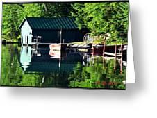 Reflecting Lake Greeting Card