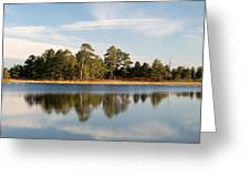 Reflected Clouds Greeting Card