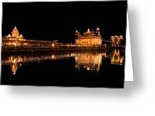 Reflected Golden Temple Greeting Card