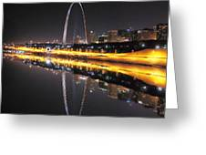 Reflected St. Louis Greeting Card