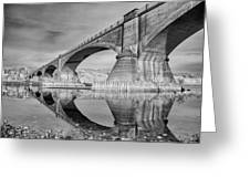Reflecting Fernbridge Greeting Card