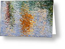 Reflecting Harbor Breezes Greeting Card