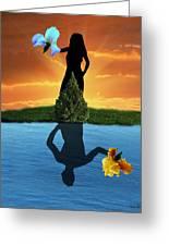 Reflecting Greeting Card
