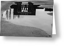 Reflection 001 Greeting Card