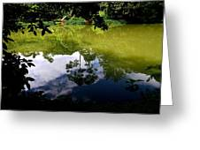 Reflection Greeting Card by Arie Arik Chen