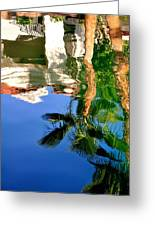 Reflection Gabezo And Trees 29478 Greeting Card