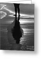 Reflection - Horseneck Beach Greeting Card