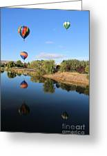 Reflection In Prosser Greeting Card