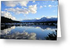 Reflection Lake Greeting Card by Mike Podhorzer
