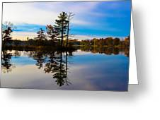 Reflection Greeting Card by Michelle and John Ressler