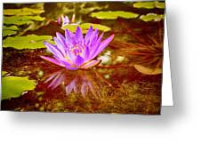 Reflection Of Beauty Greeting Card