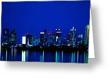 Reflection Of Dallas Greeting Card