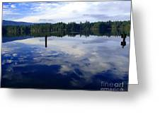 Reflection Of Natures Beauty Greeting Card