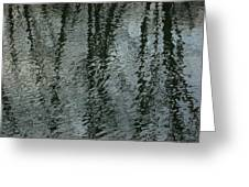 Reflection On Water Greeting Card