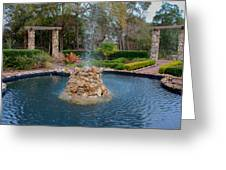 Reflection Pond At Ravine Gardens State Park Greeting Card