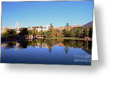Reflection Pond Greeting Card by Kathleen Struckle