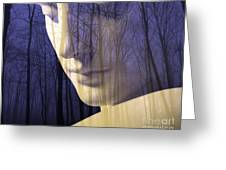 Reflection / The Philosophy Of Mind Greeting Card