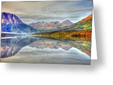 Reflections Along The Seward Highway - Alaska Greeting Card
