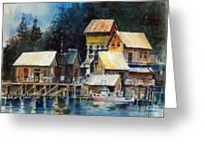 Reflections At Waters Edge Greeting Card