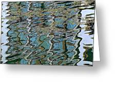 Reflections From The Ponte Vecchio Greeting Card