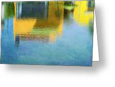Reflections In Abstract Greeting Card