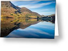 Reflections In Buttermere Uk Greeting Card