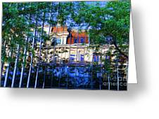 Reflections In The City Greeting Card