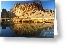 Reflections In The Crooked River Greeting Card