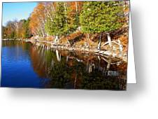 Reflections In Water Greeting Card