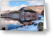 Reflections In Winter Greeting Card