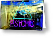 Reflections Of A Psychic Greeting Card