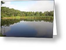Reflections Of A Still Pond Greeting Card