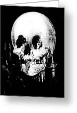 Reflections Of Death After Gilbert Greeting Card