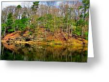 Reflections Of Earth Greeting Card