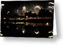 Reflections Of Epcot Greeting Card
