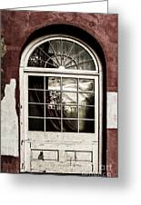 Reflections Of Yesteryear Greeting Card