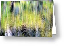 Reflections Of Fall 3 Greeting Card